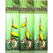 Блешня-вертушка подвійна Condor, колір C06, 6г