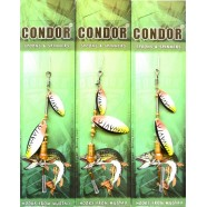 Обертається блешня подвійна Condor, колір C07, 6г