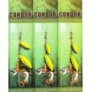 Блешня-вертушка подвійна Кондор, колір C09, 6г