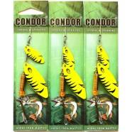 Блесна двойная вращающаяся Condor, цвет C04, 10гр