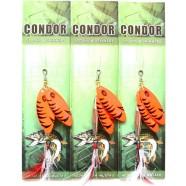 Блесна-вертушка двойная Condor, цвет C08, 15гр