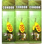Блесна-вертушка Кондор, цвет 196, 10гр