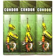 Блесна вращающаяся двойная Condor, цвет 199, 8гр