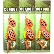 Обертова подвійна блешня Condor, колір 200, 15гр