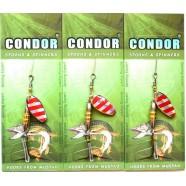 Блешня-вертушка Condor, колір 118, 5гр