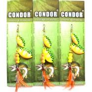 Вращающаяся двойная блесна Кондор, цвет 17, 11гр