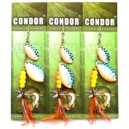 Вращающаяся блесна двойная Condor, цвет16, 15гр