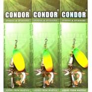 Блесна вращающаяся Кондор, цвет 187, 10гр