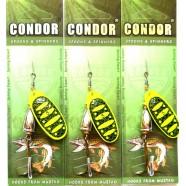 Блесна-вертушка Condor, цвет B9, 12гр