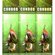 Обертається блешня Кондор, колір CB04, 10гр