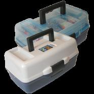 Ящик для риболовних дрібниць AQUATECH-1702Т, 2-поличний, прозорий
