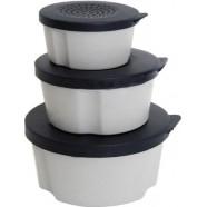 Набір коробок для черв'яків AQUATECH-227911, 3шт