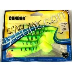 Виброхвост Кондор Crazy bait CH3.5RM, длина 85мм