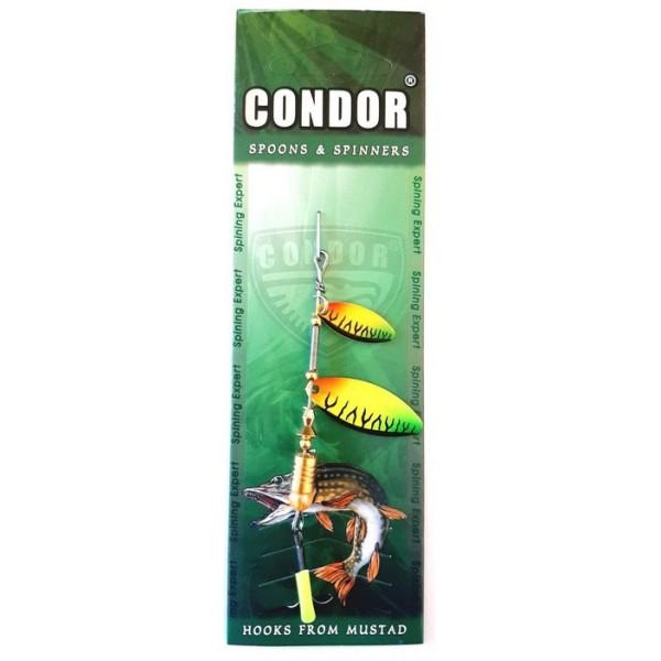 Блешня обертова подвійна Кондор, колір CB03, 6гр