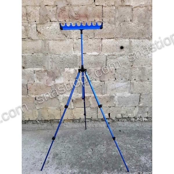 Телескопічна фидерная підставка Feima з гребінкою на 8 уд.