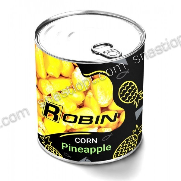 Наживка Кукурудза ROBIN ж/б 200мл.