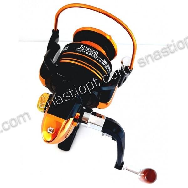 Котушка для спінінга SHUMU SU 4000 FD, 13 підш.