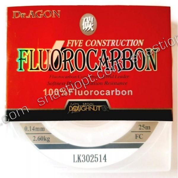 Флюорокарбон Dr.AGON FIVE CONSTRUCTION, 25м
