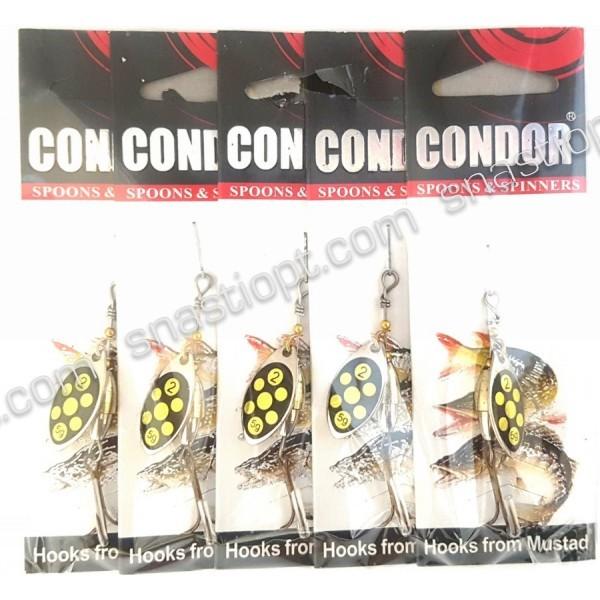 Обертається блешня Condor, колір 117, 5гр