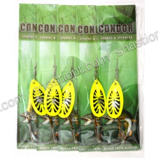 Вращающаяся блесна Condor, цвет 198, 10гр
