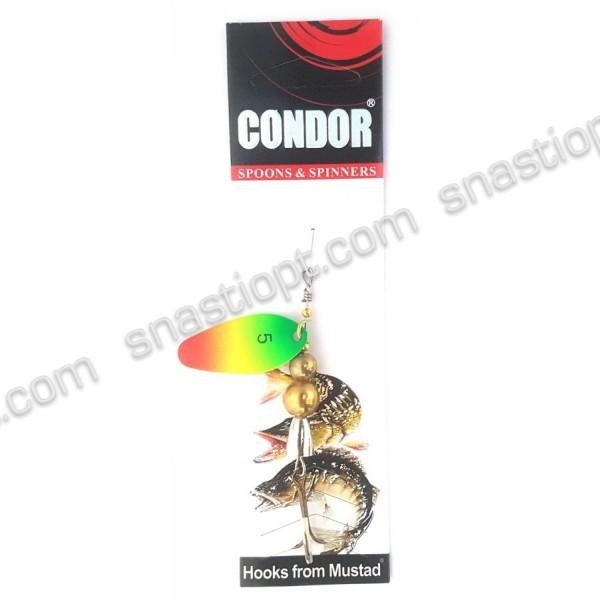 Блесна-вертушка Condor, цвет 01, 11гр