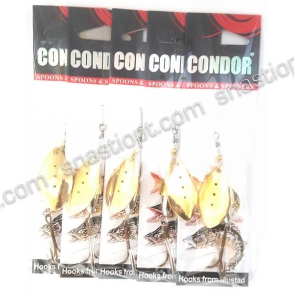 Обертається блешня Condor, колір 116, 15гр