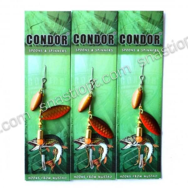 Блешня-вертушка Condor, колір 404, 6г