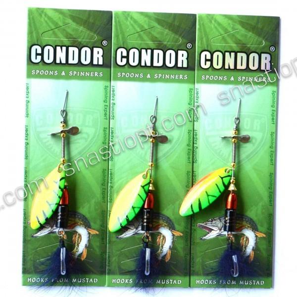 Блесна вращающаяся Condor, цвет 175, 12гр