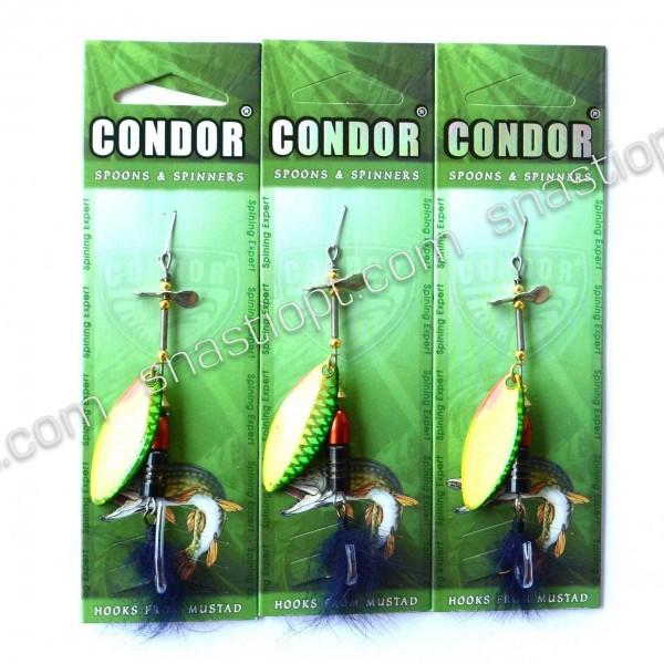 Блешня-вертушка Кондор, колір 405, 12гр