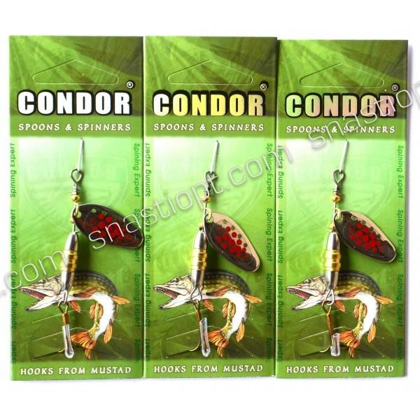 Вращающаяся блесна Condor, цвет 138, 5гр