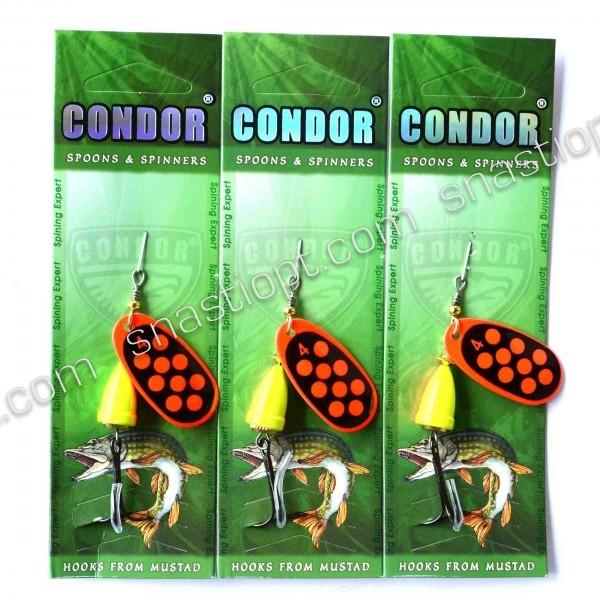 Блесна вращающаяся Condor, цвет 194, 10гр