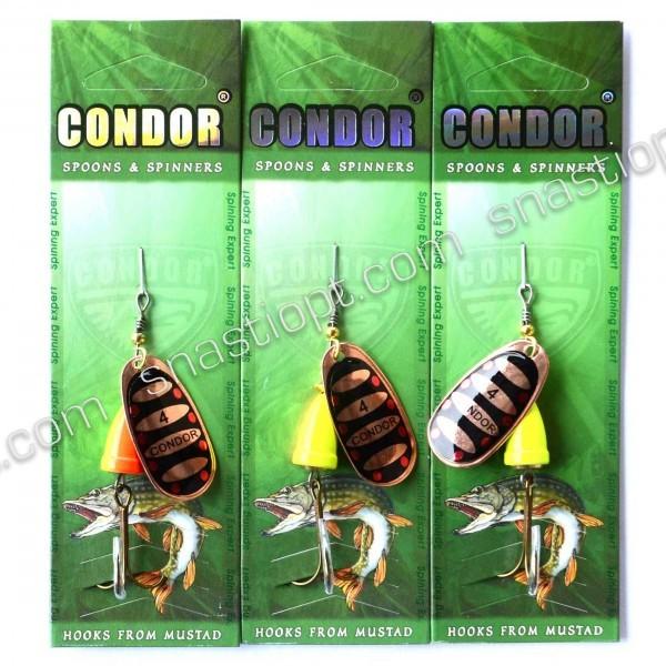 Блешня-вертушка Кондор, колір 814, 10гр