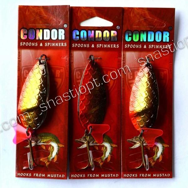 Блесна шумовая (двойная) Condor, цвет 17, 25гр
