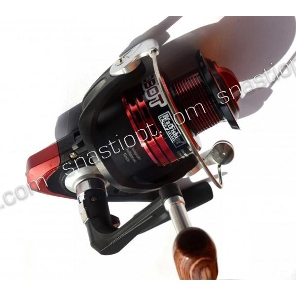 Катушка для спиннинга Brat Fishing, AUTOBOT 3000 FD, 5+1 подш.