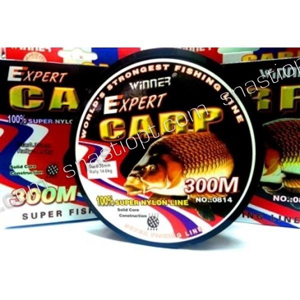 Леска рыболовная Эксперт Карп Winner, 300м