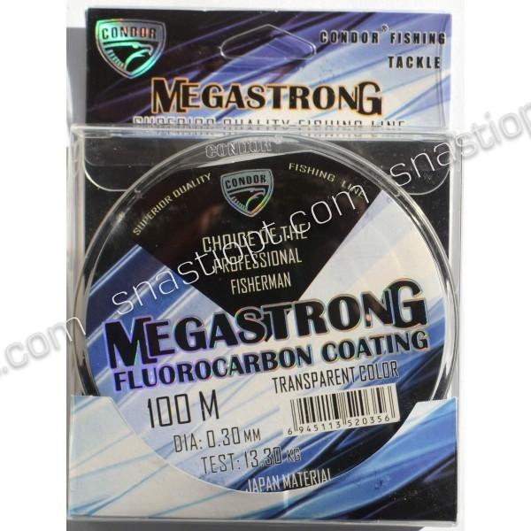 Волосінь Condor MegaStrong Fluorocarbon Coating 100м