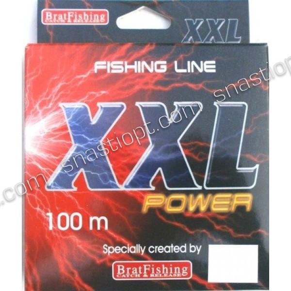 Леска для рыбной ловли Братфишинг XXL Power, 100м