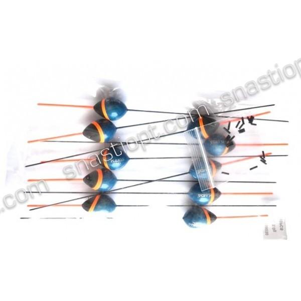 Поплавок глухий для риболовлі Каїда, довжина 20,5 см, вага - 3г