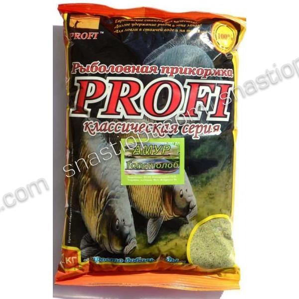 Прикормка для лову риби PROFI, Амур-Товстолоб (Планктон), 1кг