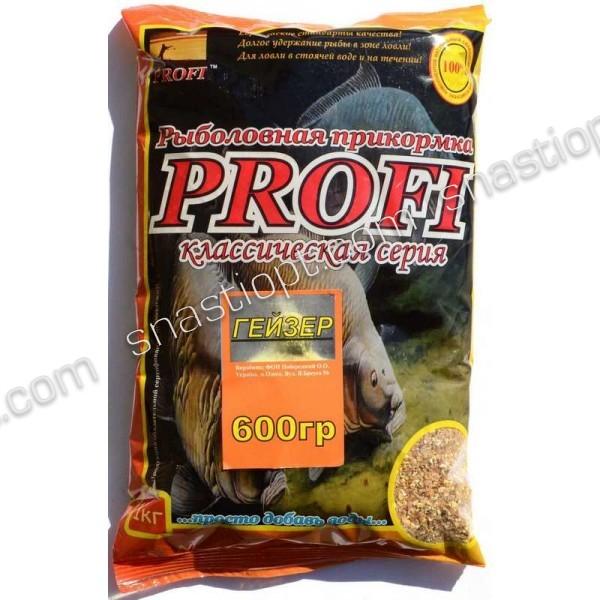 Прикормка PROFI, Гейзер, 0,6 кг