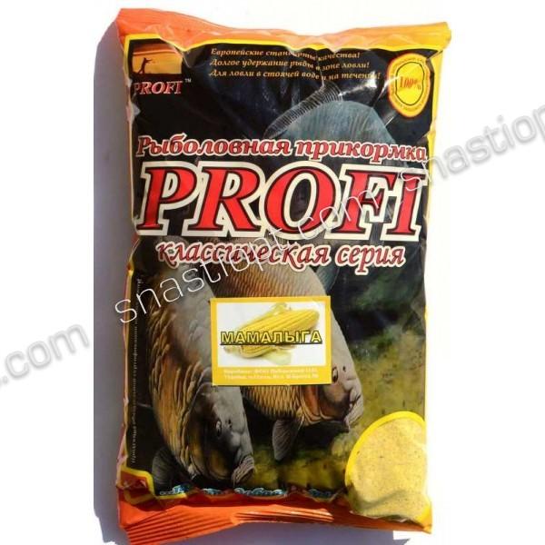 Рыболовная прикормка PROFI, Мамалыга, 1кг