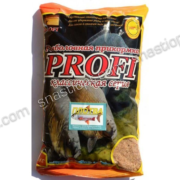 Рыболовная прикормка PROFI, Плотва (Бетаин), 1кг
