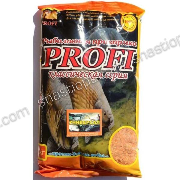 Прикормка для рыбы PROFI, Универсал, 1кг