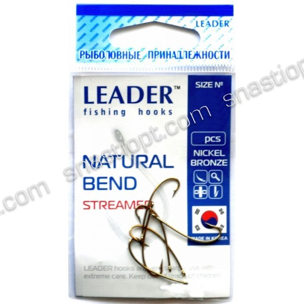 Гачки Leader Natural Bend BN