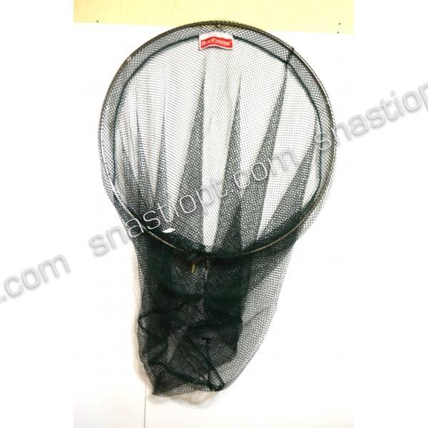 Подсак рыбацкий BratFishing круглый складной, ручка телескопическая, Ø 60 см