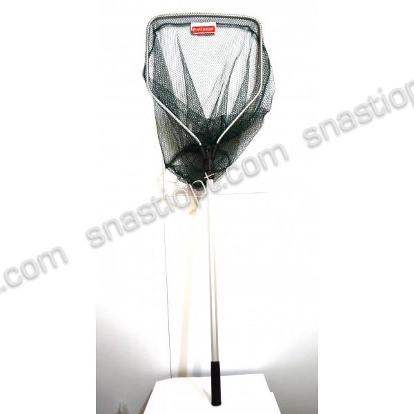 Подсак BratFishing пятиугольный, ручка телескопическая, Ø 45 см, тип 12