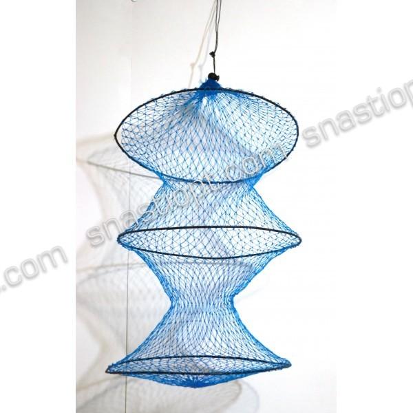 Садок рыболовный BratFishing круглый тип 06 длина 50 см