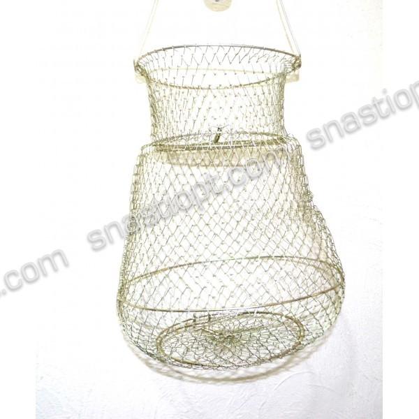 Садок рыбацкий Винер металлический, 30 см