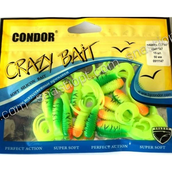 Твистер Crazy bait CTF50, длина 50мм