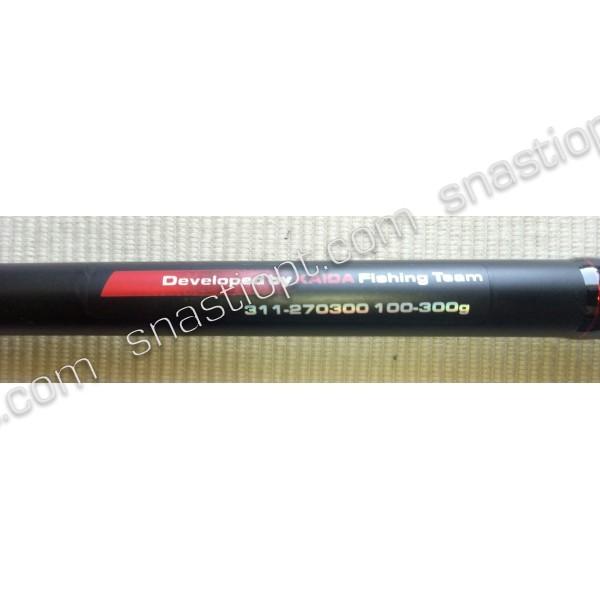 Коропове штекерне вудилище Kaida Black Arrow, тест 100-300г